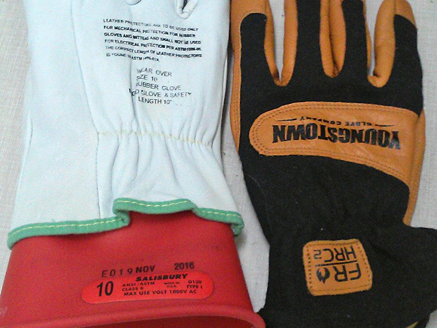 Arc flash gloves: insulated vs arc rated gloves